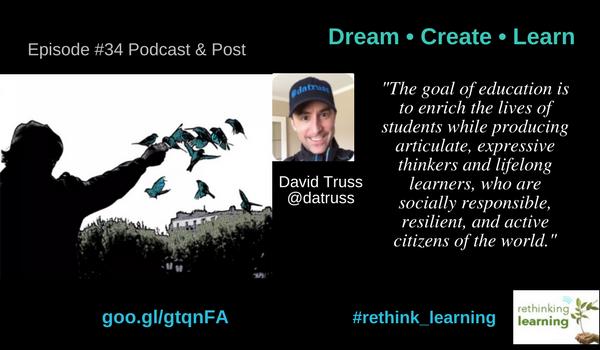 Episode 34 - Dream • Create • Learn
