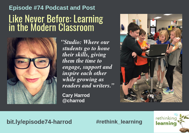 Episode #74: Podcast/Post with Cary Harrod