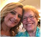 Mandy and Barbara selfie
