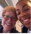 Selfie with Sarah Thomas