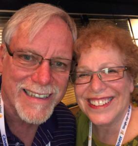 Leigh Zeitz with Barbara Selfie