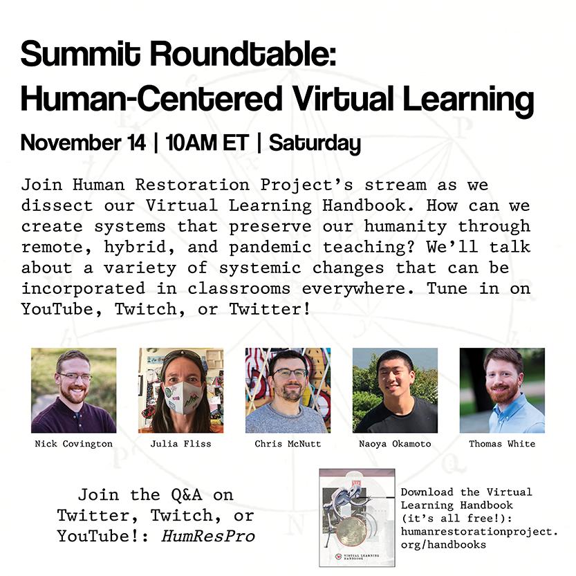 Summit-Human Restoration Project 11-14-20