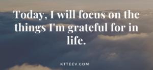 Gratitude Quote by KTTeeV