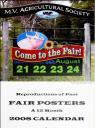 Fair Posters Calendar 2008