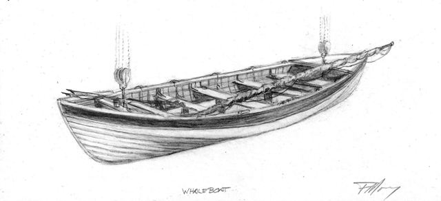 Fran Morey-Whaleboat-sketch