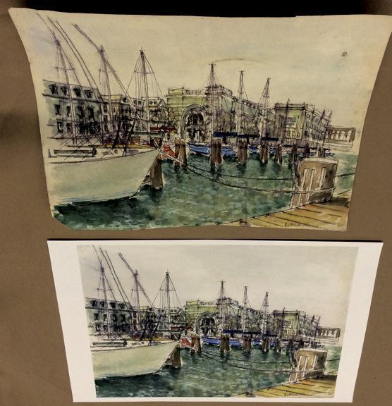 original water color restored copy