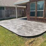 All Grays Stamped Concrete Patio