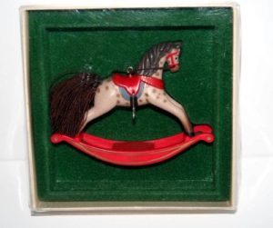 Hallmark Ornament Rocking Horse # 1