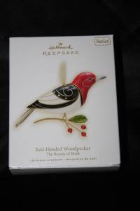 Hallmark ornament Beauty of the Birds Woodpecker #5