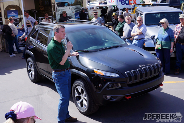 2014 Jeep Cherokee Trailhawk launch