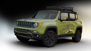 Offroad Renegade for NAIAS - front view