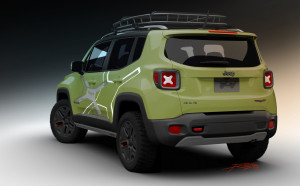Offroad Renegade for NAIAS - rear view