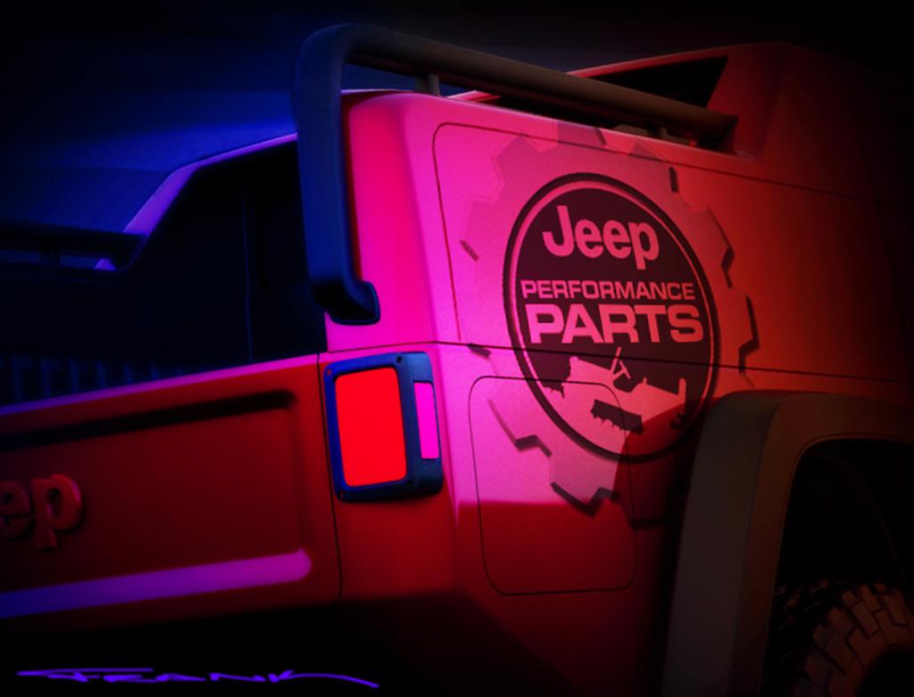 Jeep Wrangler Red Rock Easter Jeep Safari Concept