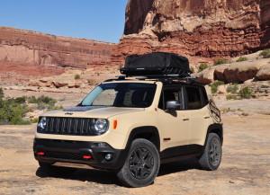 Concept Jeep Renegade Desert Hawk