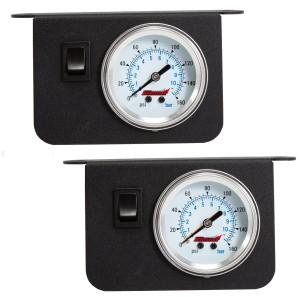 Kleinn air pressure dash panel gauge kits