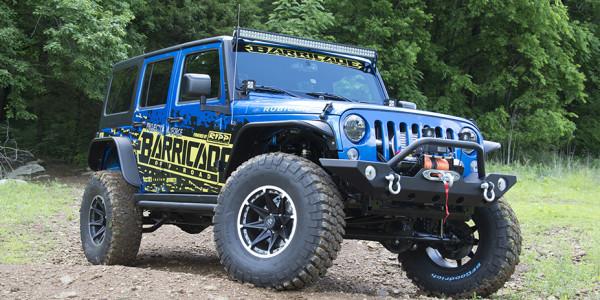 Project Trail Force Jeep JKU