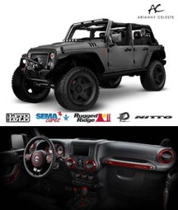 OMIX-ADA Rugged Ridge SEMA Cares Jeep JKU