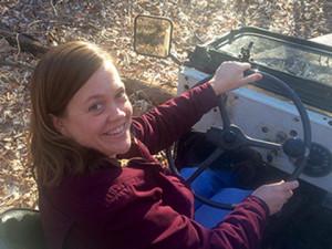 Jennifer Peine - navigator for Team JPFreek