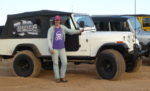 Team JPFreek driver Julie Covert and her Scrambler