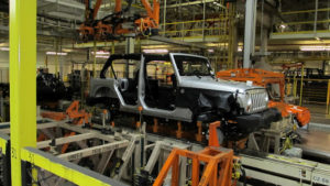 Jeep manufacturing plant