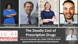 Join Us! Physicians Action Network Hosts Facebook Live with Senator Sherrod Brown