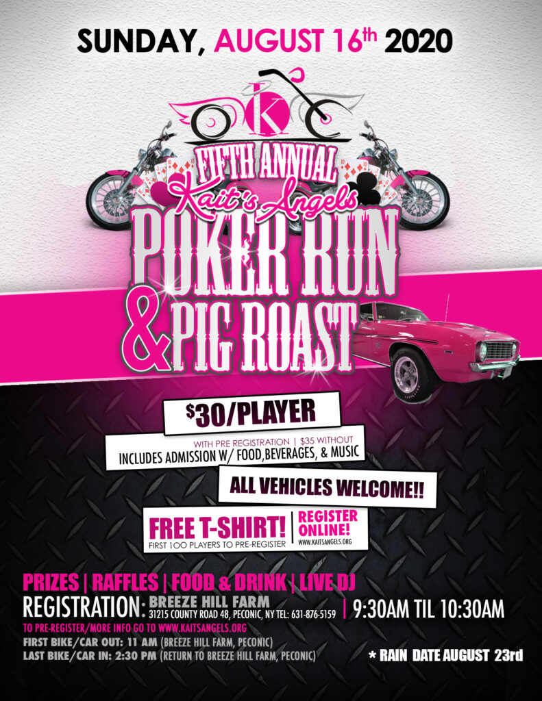 Poker Run & Pig Roast
