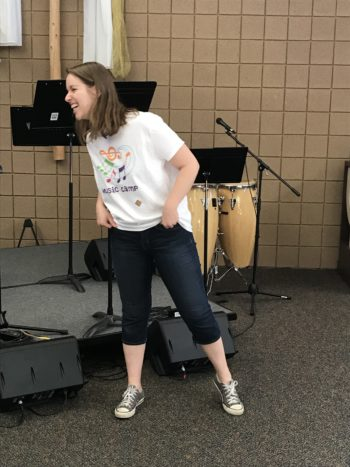 Molly Bass, Music Camp Coordinator