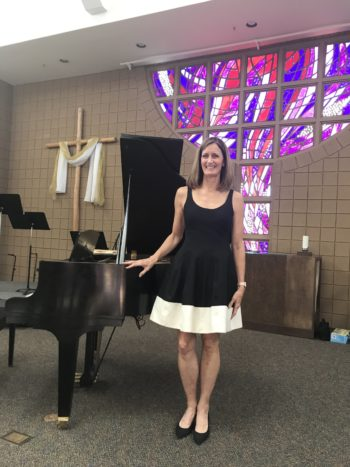 Ms. Patti, Pianist and Music Camp Co-Coordinator