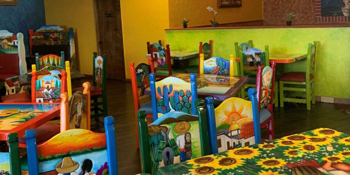 Our vibrant Buena Vista Mexican Restaurant dining room in Exton, Pennsylvania.