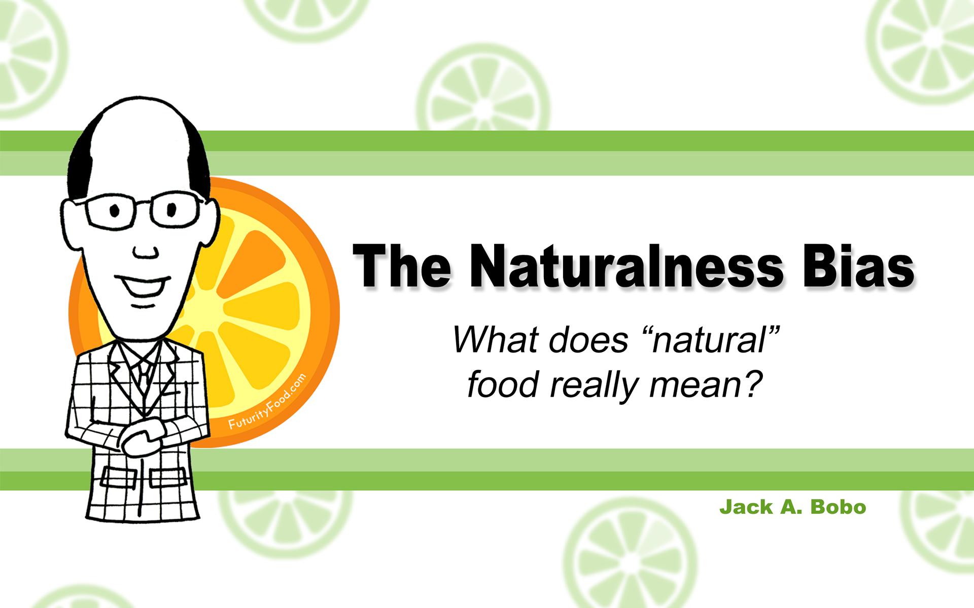 The Naturalness Bias