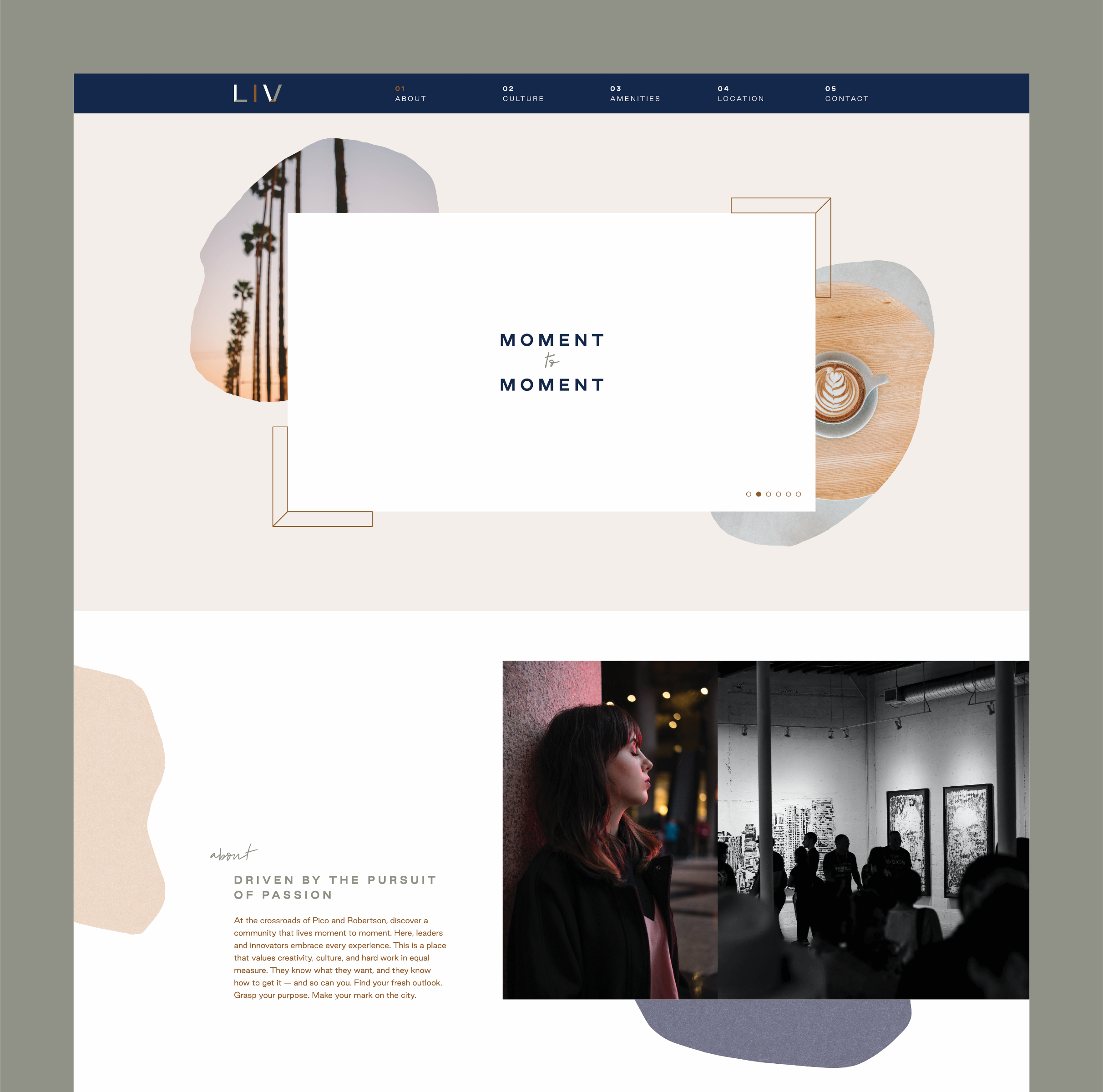 Website – About