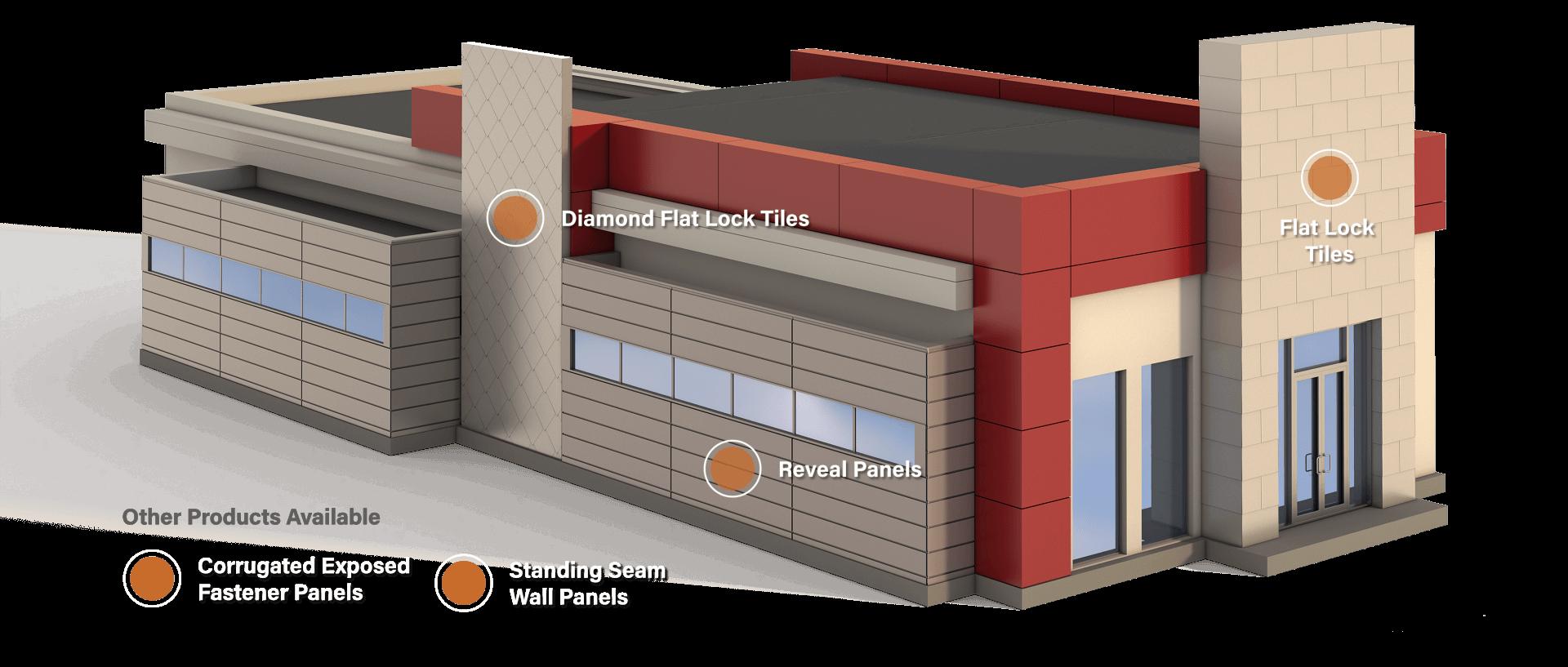 metal facade cladding