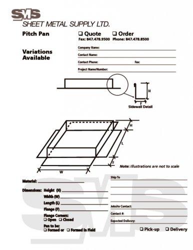 Pitch Pan