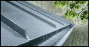 RHEINZINK gutter system - Blue-Grey Gutter 1