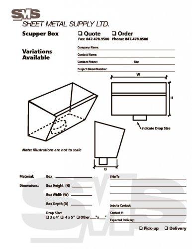Scupper Box