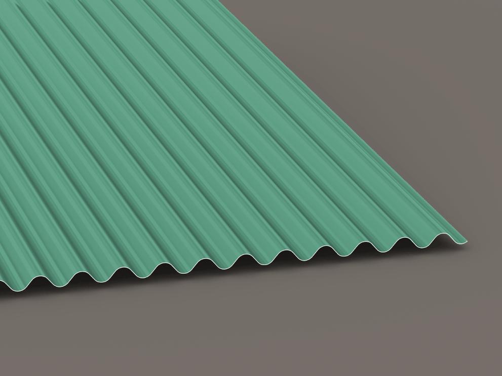 sinewave exposed fastener panels