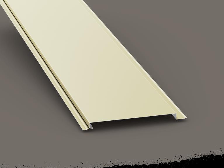 low slope roof soffit panels