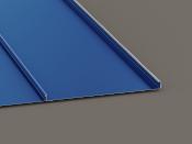 ML-1 standing seam panel 1in mech lock seamed