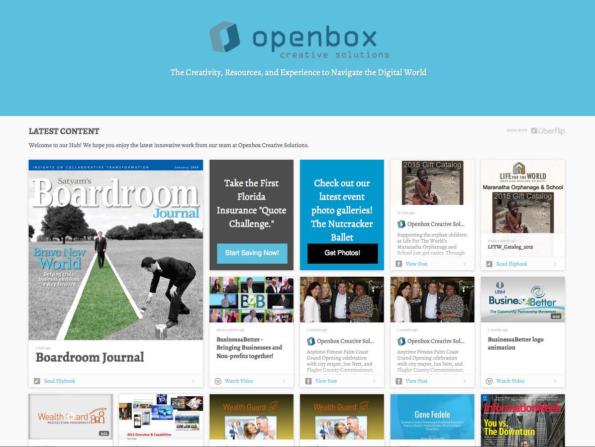 OpenBox HUB – Convert Content into Customers