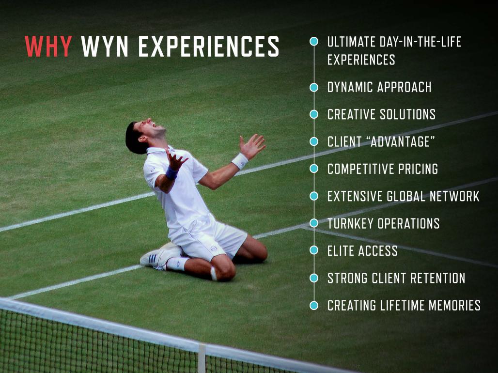 Wyn Experiences