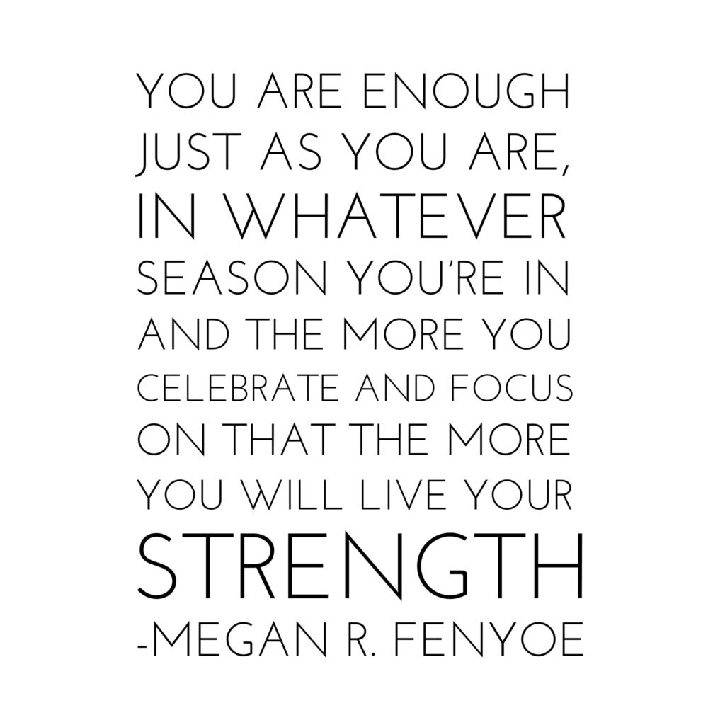 Megan R. Fenyoe Quote