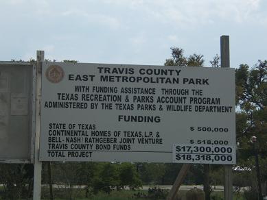 Travis county east metropolitan park