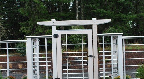 Custom Residential Gate & Fence