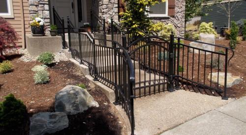 Custom Iron Residential Gate