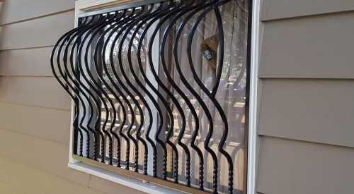 Security Window Covering