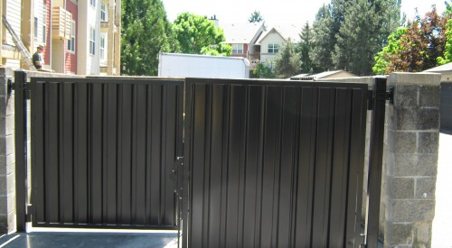 Garbage Enclosure Gates