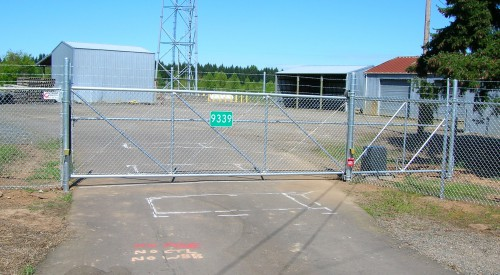 Commercial Rolling Gate