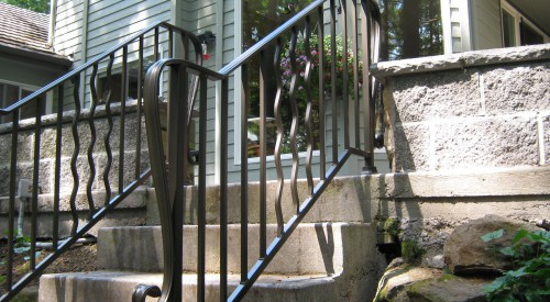 Custom Ornamental Railing