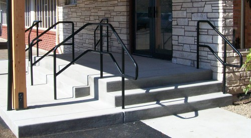 Commercial Steel Handrail