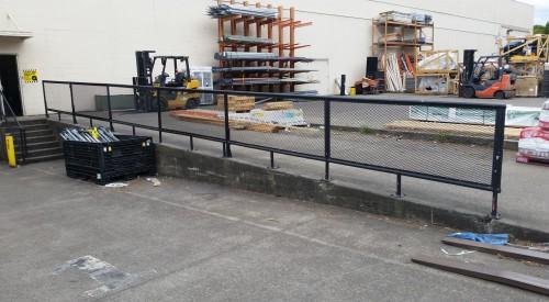Loading Dock Rail